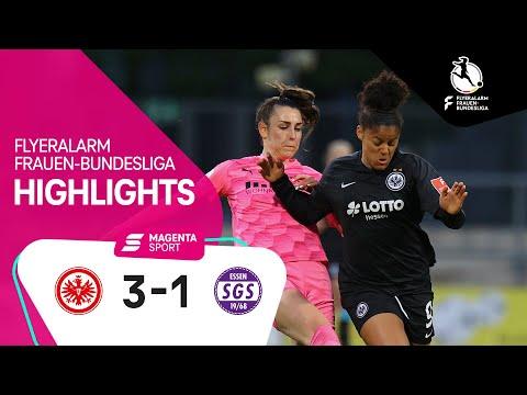 Eintracht Frankfurt - SGS Essen | 13. Spieltag, 2020/2021 | MAGENTA SPORT
