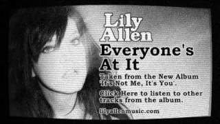 Watch Lily Allen Everyones At It video