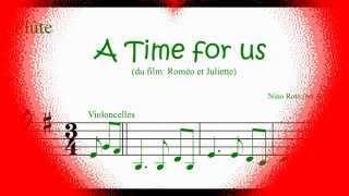 9 - A Time for Us (pour flûtes à bec)