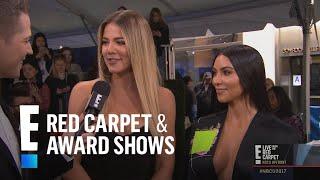 "Kim & Khloe Kardashian Reflect on 10 Years of ""Kardashians"" | E! Live from the Red Carpet"