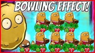 WallKnight Bowling with Go Nuts and Smackadamia Supreme - Plants vs Zombies Heroes Epic MOD
