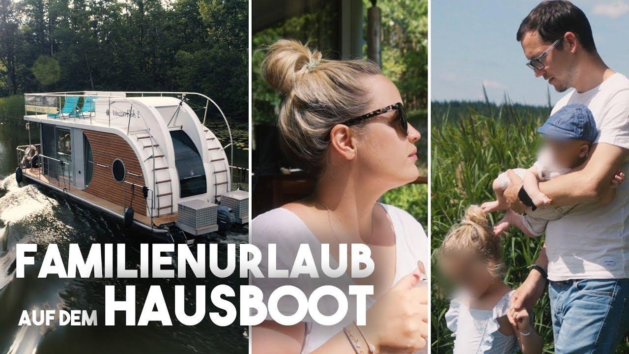 XXL VLOG Hausbooturlaub mit zwei Kindern I Mecklenburgische Seenplatte I Mellis Blog