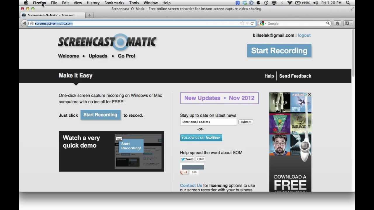 How to Use Screencast-o-Matic - YouTube