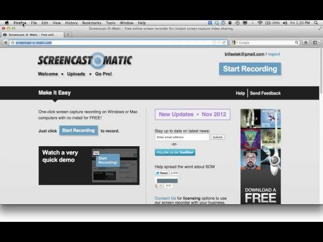 How to Use Screencast-o-Matic
