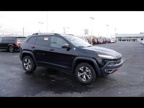 2015 Jeep Cherokee Trailhawk 4X4 For Sale Dayton Troy Piqua Sidney Ohio | CP15456T