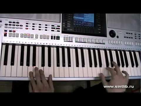 Dr Alban - Its my life игра на синтезаторе