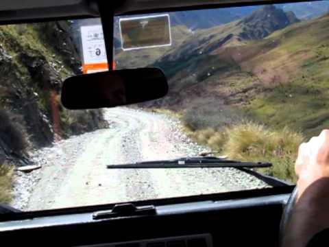 World's 7th most dangerous road - Skipper's Canyon