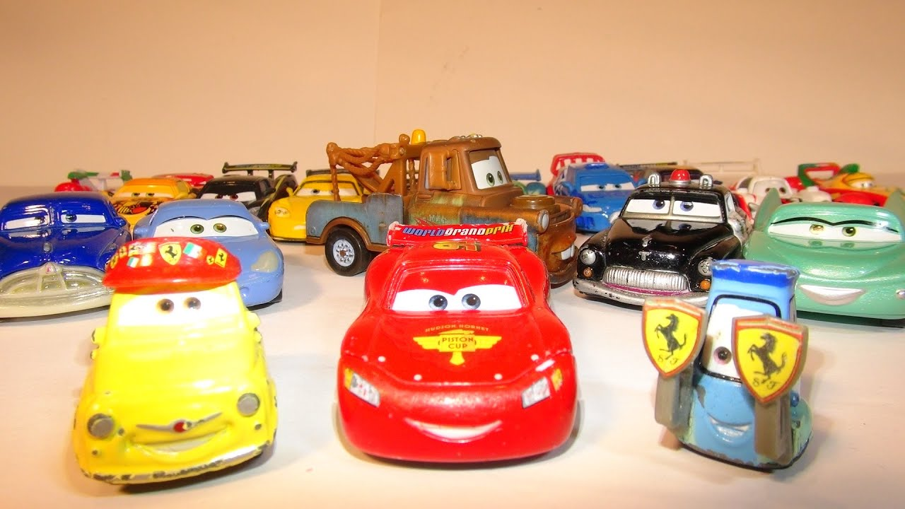 Pixar Cars Luigi And Guido Collection From The Disney Cars