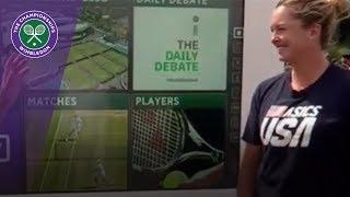 Wimbledon 2017 - Coco Vandeweghe interview