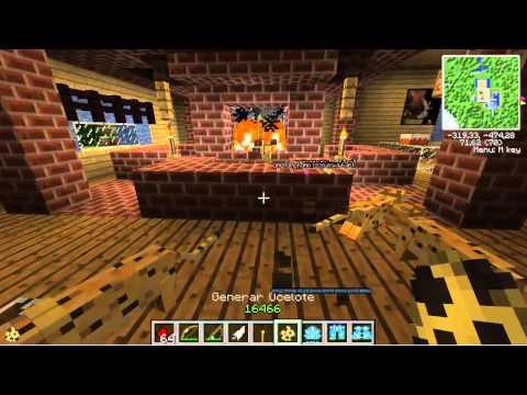 Minecraft|Mansioncita De oORiCkUOo| POLLOS LOCOS |
