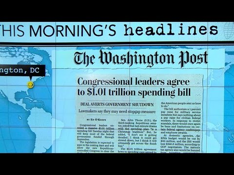 Headlines: Congressional leaders reach last-minute spending deal to avoid government shutdown