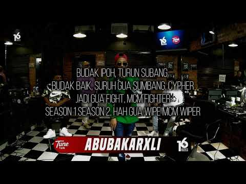 ABUBAKARXLI | 16BARIS | LIRIK VIDEO
