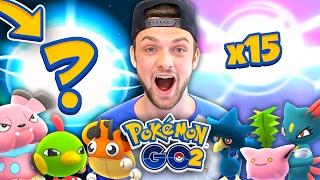 Pokemon GO (GEN 2) - *NEW* EVOLUTIONS + 15 NEW POKEMON! (Part #2)