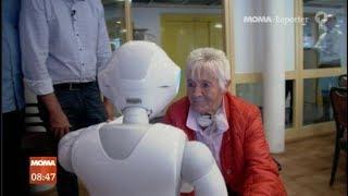 Realität: Roboter statt Pflegerin oder Pfleger im Altenheim