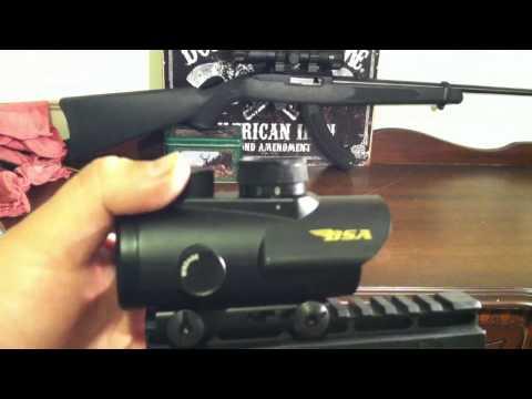 BSA rgb dot gun scope