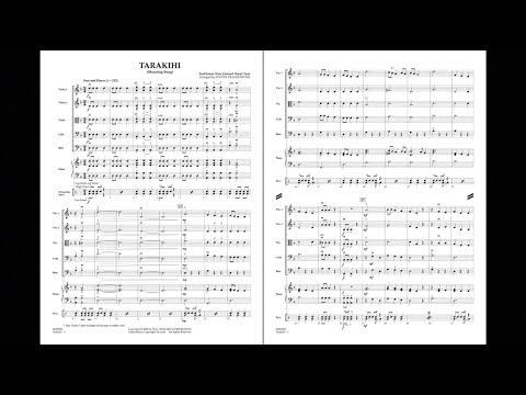 Tarakihi (Shouting Song) arranged by Steven Frackenpohl