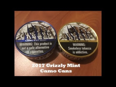 2017 Grizzly Mint Camo Cans