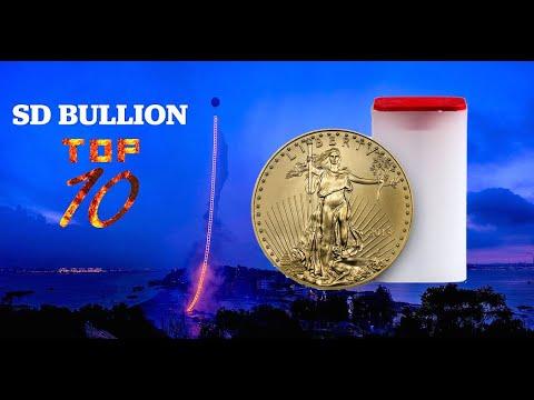 TOP 10 Bullion Products - Gold Eagle Coins | SD Bullion