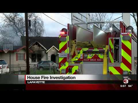Lincoln St. house fire