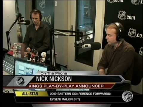Nick Nickson's interview from the NHL network-part 1
