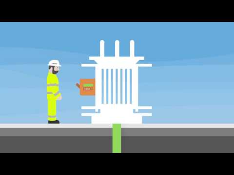 Electricity North West Transient Faults Animation