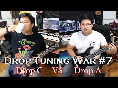 Drop Tuning War #7 Drop C VS Drop A