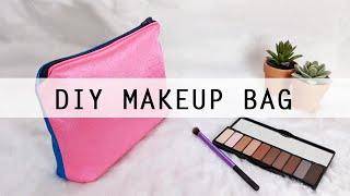 DIY Makeup Bag with Waterproof…