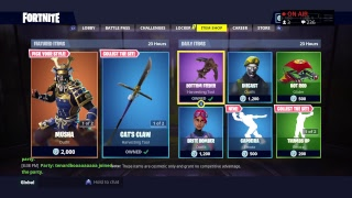 V BUCKS GIVEAWAYS| PLAYING W/SUBS| ITEM SHOP| HIME SKIN| FORTNITE-BR (SEASON 5) [8/24/18]