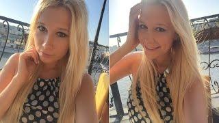 Макияж для блондинки/Make-up for blonde