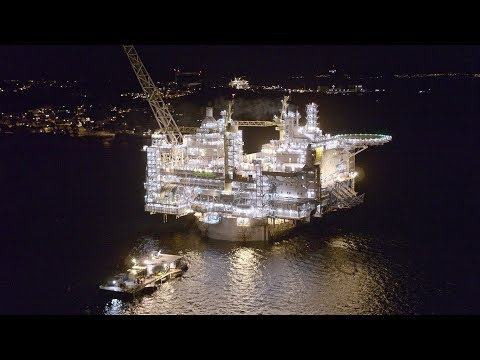 World's largest spar platform mated