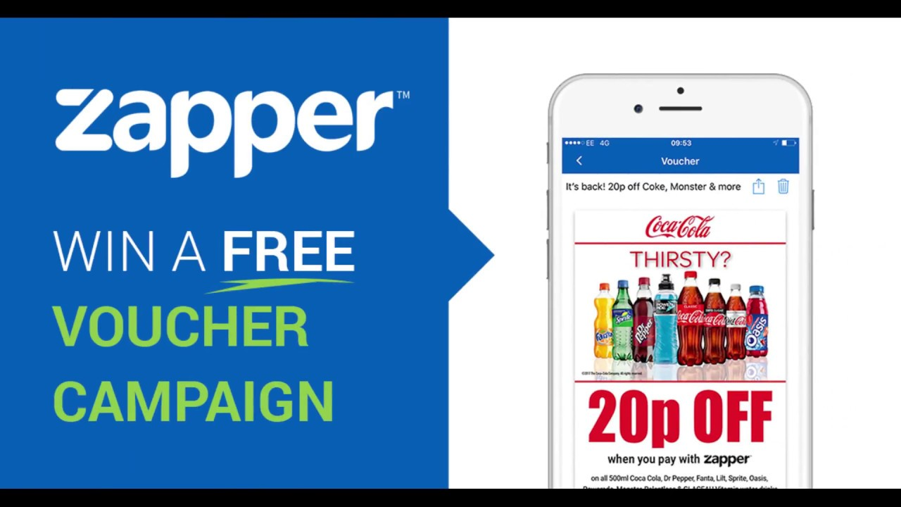 Win a free digital voucher campaign with Zapper
