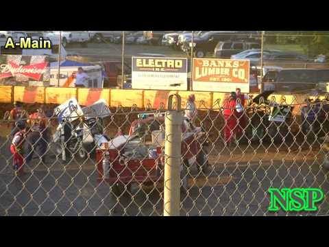 May 28, 2017 600 Restricted Mini Sprints A-Main Sunset Speedway