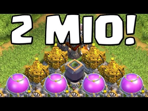 2 MIO LOOT! || CLASH OF CLANS || Let's Play Clash of Clans [Android iOS PC]