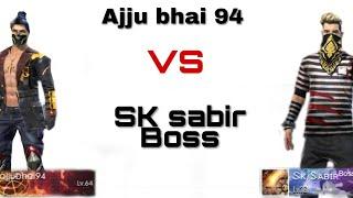 SK sabir boss  Vs  total gaming Ajju bhai 94 full epic gameplay | TSG Nikhil