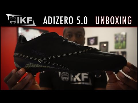 Adidas Adizero 5-Star 5.0 x Kevlar Football Cleat Unboxing - Ep. 271