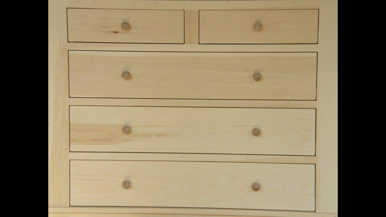 Dresser Build Part 2: Cabinet Construction - YouTube