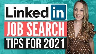 LINKEDIN JOB SEARCH TIPS 2021   How to Find a Job Using LinkedIn screenshot 5