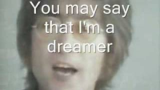 Video IMAGINE - John Lennon - (with LYRICS) download MP3, 3GP, MP4, WEBM, AVI, FLV Agustus 2018