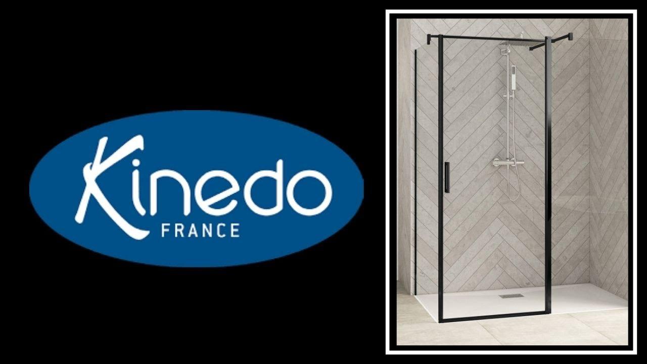 montage d 39 une parois de douche et receveur kinedo youtube. Black Bedroom Furniture Sets. Home Design Ideas