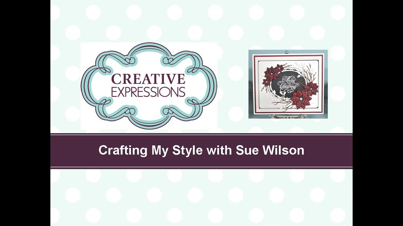 Creative Expressions Sue Wilson FESTIVE COLLECTION Holly Accessory Kit CED3014