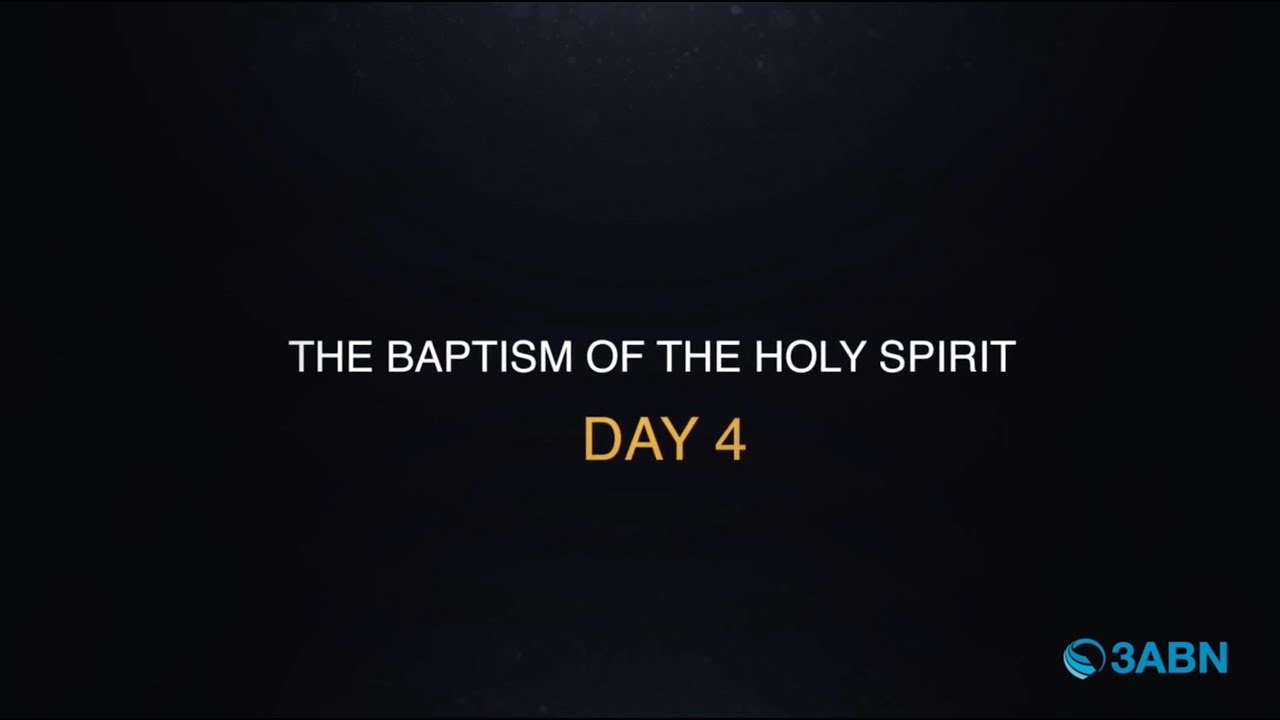 """The Baptism Of The Holy Spirit"" - Ten Days of Prayer (PHTDP200004)"