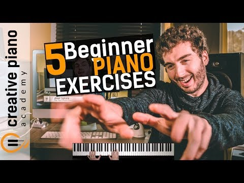 The Top 5 Piano Exercises For Beginners