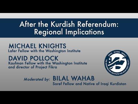Regional Implications of the Kurdish Referendum