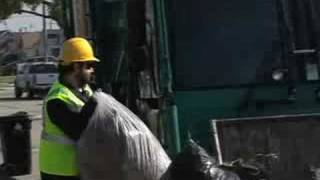 Garbage Truck Man - A Day in the Life