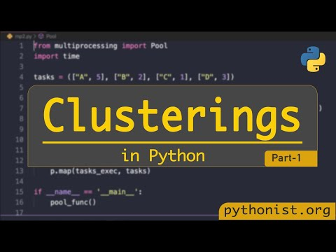 Clustering In Python   Clusters And Job Queue - Part 1   Python Tutorials
