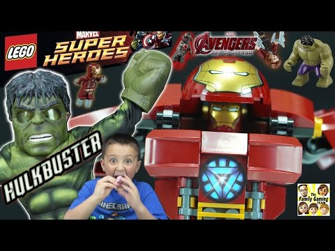 Thumbnail: LEGO Hulk Buster Smash Build Review Fun! Avengers Age of Ultron Stop Motion & Timelapse (Marvel)