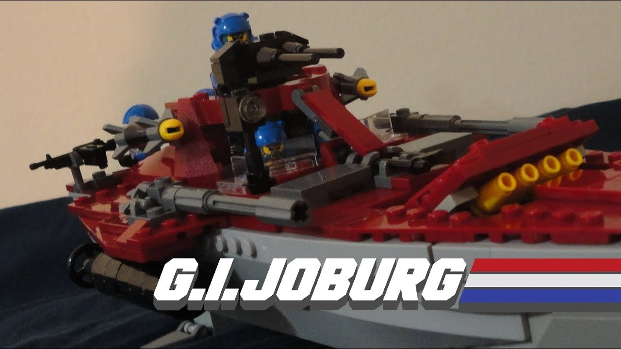 LEGO GI Joe Battle Diorama (2020 Update) in 2020 | Gi joe
