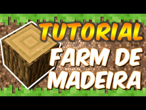 Minecraft Xbox One - Tutorial Farm de Madeira, Maçãs e Mudas - Eficiente no Survival