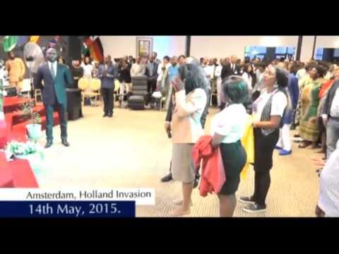 #Apostle Johnson Suleman(Prof) #I Will Not Come Down #1of2 #Amsterdam, Holland Invasion 2015