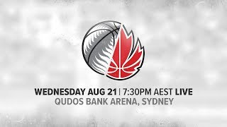 LIVE - New Zealand vs Canada - International Basketball Series 2019